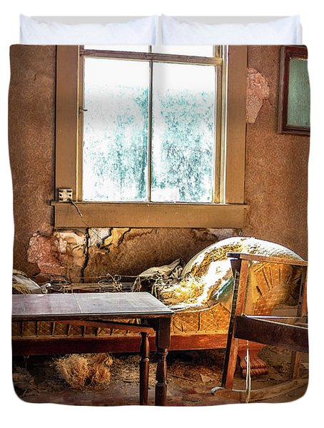 Our Home Of Long Ago Duvet Cover