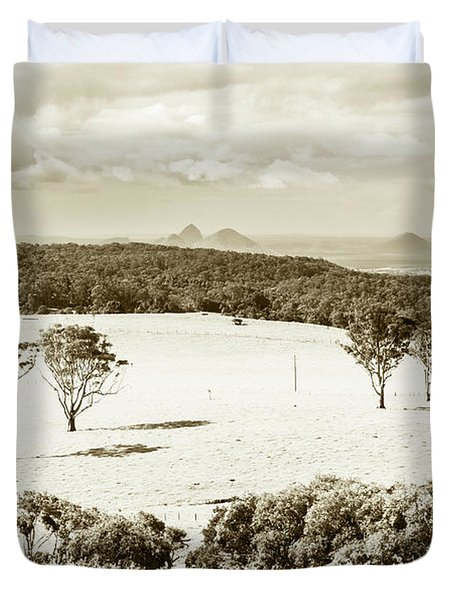 Outback And Beyond Duvet Cover
