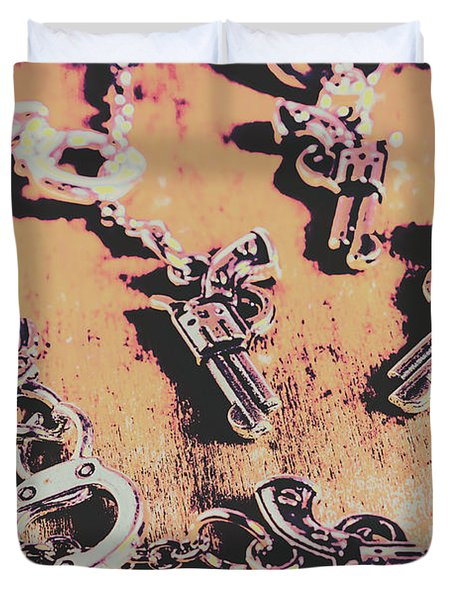 Outlaw Frontiers Duvet Cover