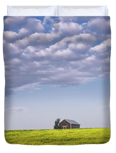 Outstanding In Its Field Duvet Cover