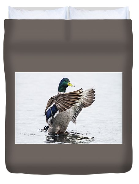 Outstreched Wings Duvet Cover
