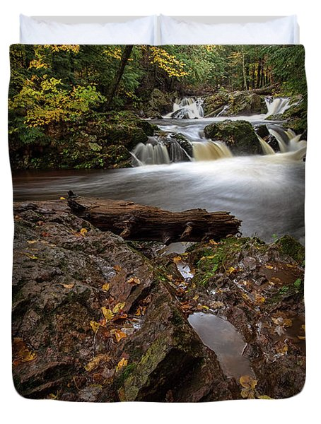Overlooked Falls 3 Duvet Cover