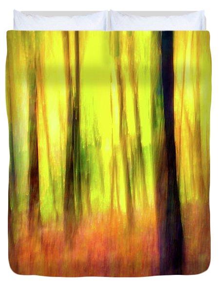 Ozark Autumn Blaze Duvet Cover