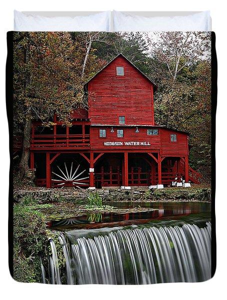Ozarks Mill Duvet Cover