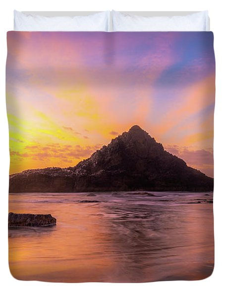 Pacific Northwest Paradise Duvet Cover