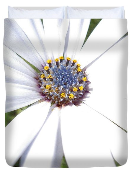 Page 13 From The Book, Peace In The Present Moment. Daisy Brilliance Duvet Cover