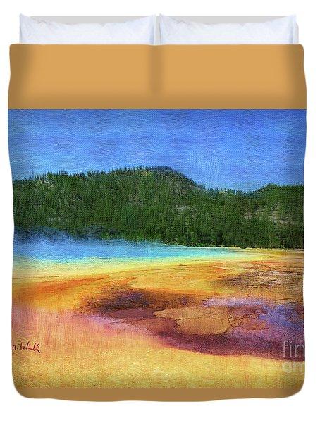 Painting #5 Duvet Cover