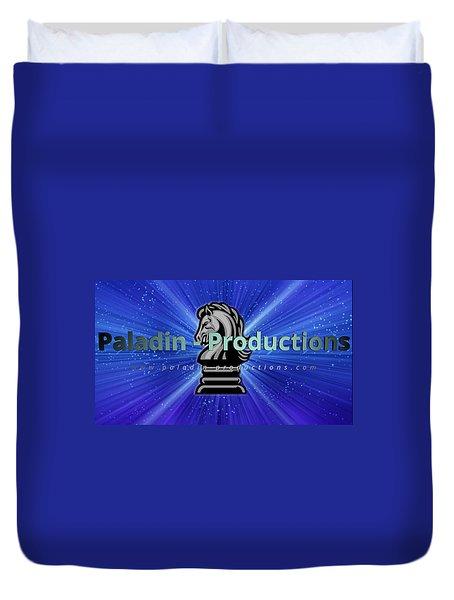 Paladin-productions.com Logo Duvet Cover