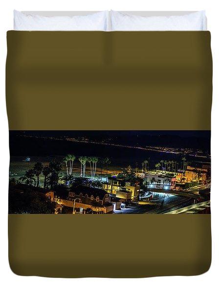 Palisades Park Night - Panorama Duvet Cover