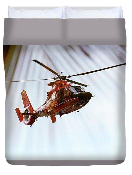 Palm Chopper Duvet Cover