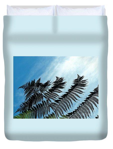 Palms Flying High Duvet Cover