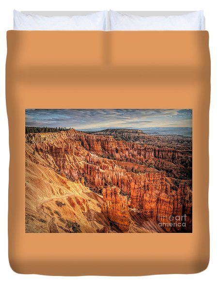 Panorama Bryce Canyon Utah  Duvet Cover
