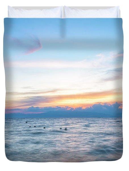 Paradise Beauty Duvet Cover