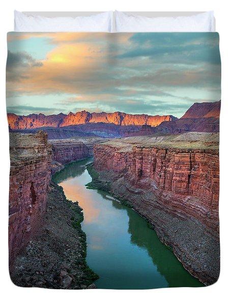 Paria River Canyon, Vermilion Cliffs Duvet Cover