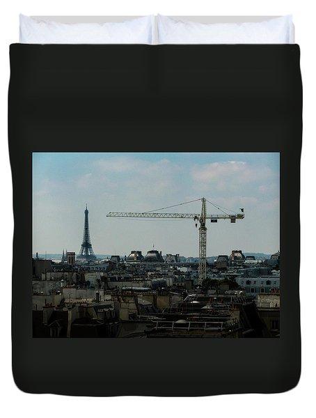Paris Towers Duvet Cover