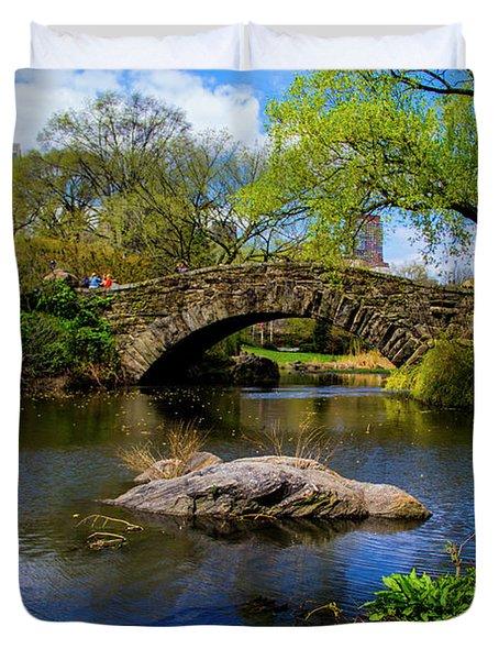 Park Bridge2 Duvet Cover