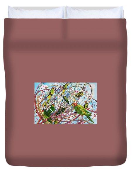 Parrot Bramble Duvet Cover