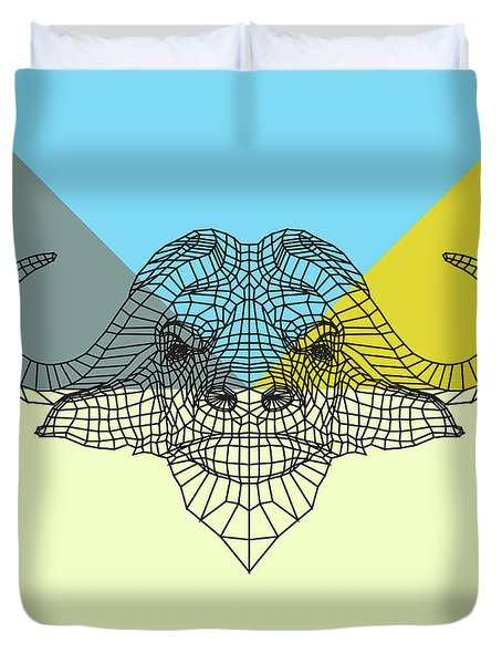 Party Buffalo Mesh Duvet Cover