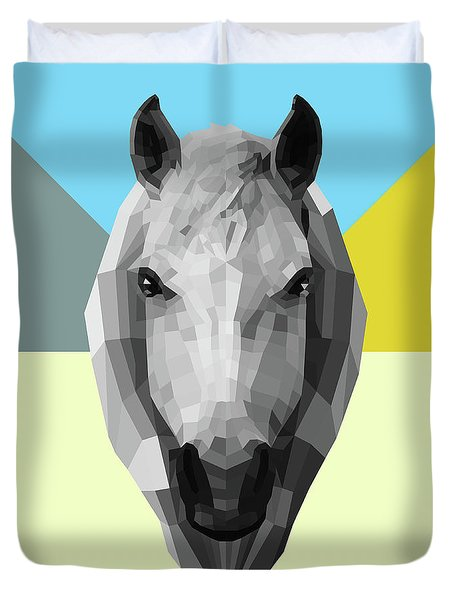 Party Horse Duvet Cover