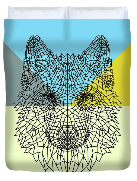 Party Wolf Duvet Cover