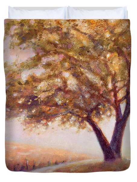 Paso Robles Oak Tree Duvet Cover