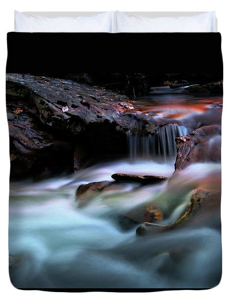Passion Of Water Duvet Cover