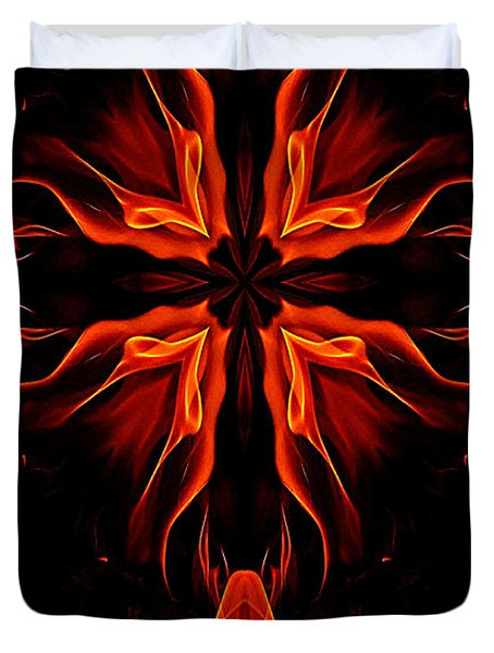 Duvet Cover featuring the photograph Passion by Phil Koch