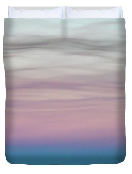 Pastel Clouds Duvet Cover