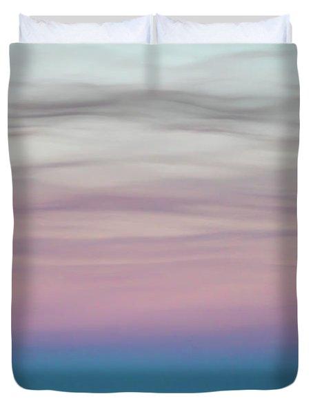 Pastel Clouds Duvet Cover