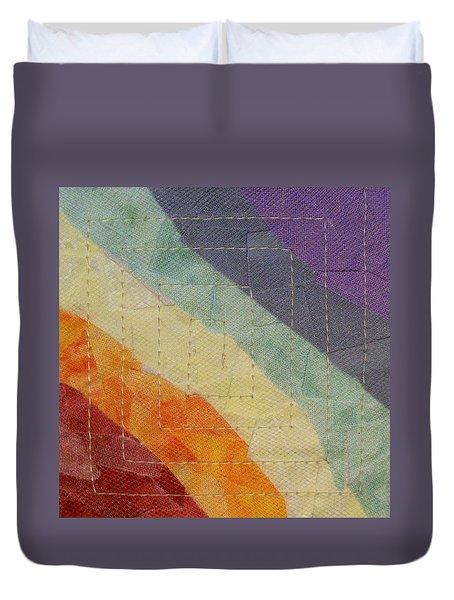 Pastel Color Study Duvet Cover