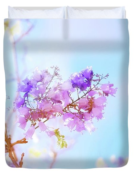 Pastels In The Sky Duvet Cover