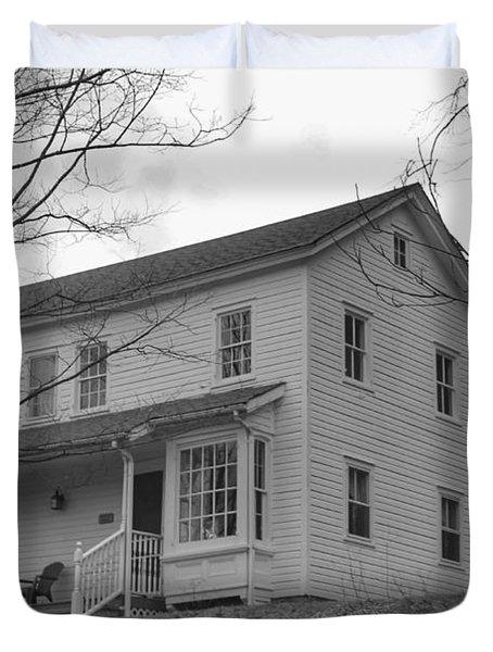 Pastors House - Waterloo Village Duvet Cover