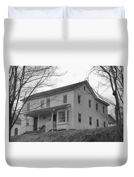 Pastors House - Waterloo Village Duvet Cover