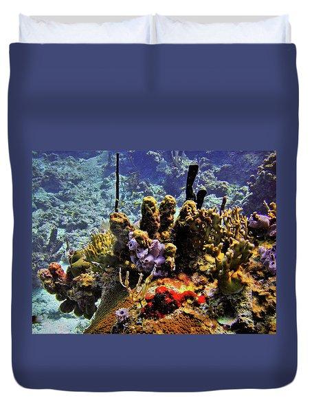 Patch Reef Bluff Duvet Cover