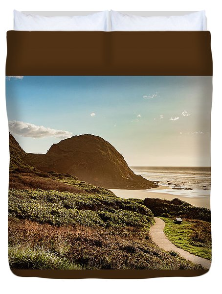 Pathway To Goodtimes Duvet Cover