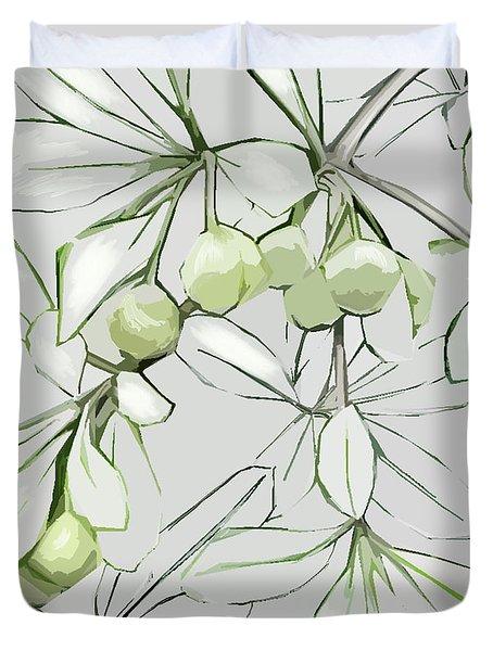 Patio Print Duvet Cover
