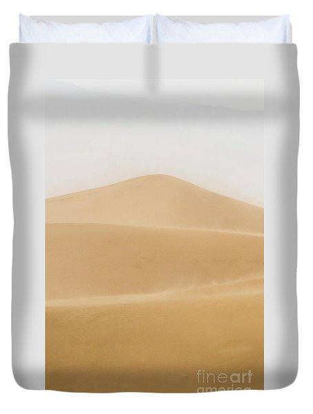 Patterned Desert Duvet Cover