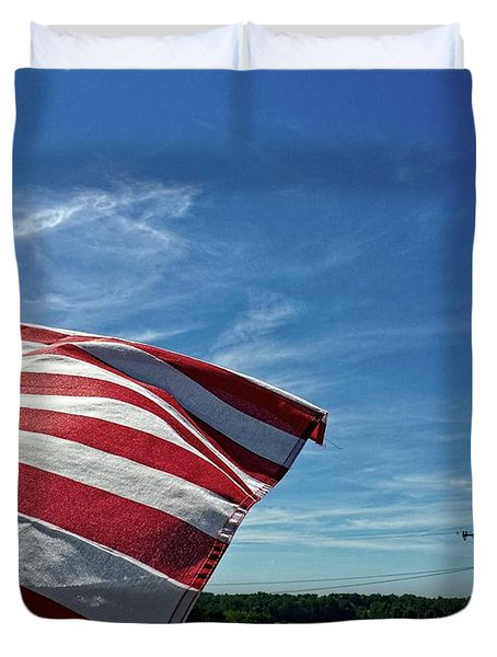 Peaceful Summer Day Duvet Cover