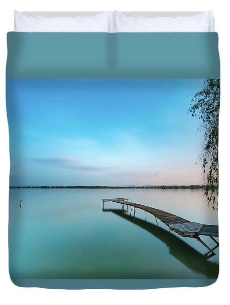 Peacefull Waters Duvet Cover
