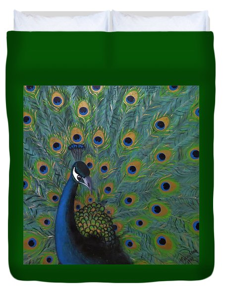 Peacock Duvet Cover