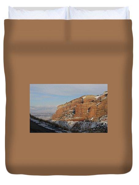 Peak-a-boo Canyon Duvet Cover