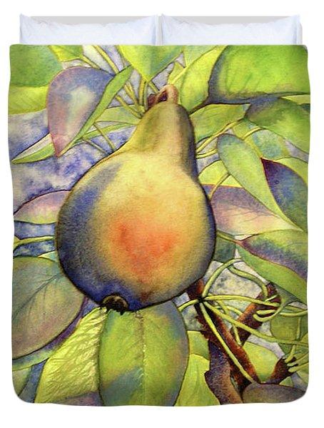 Pear Of Paradise Duvet Cover
