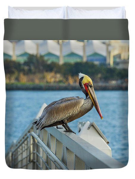 Peli-can Or Can't? Duvet Cover