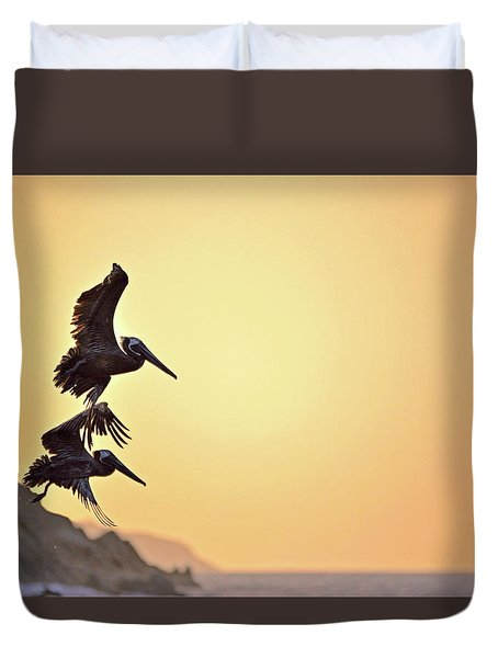 Pelican Down Duvet Cover