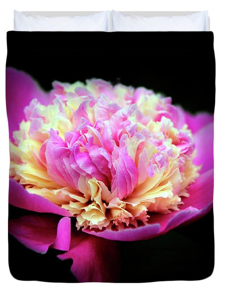 Peony In Pink Duvet Cover