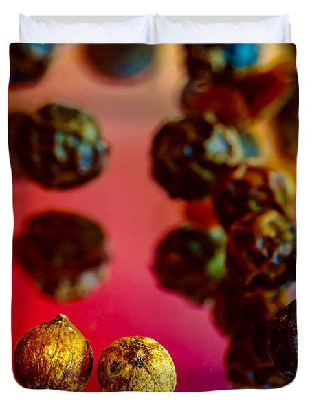 Peppercorns Duvet Cover