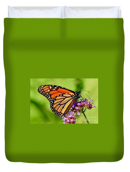 Perfect Monarch Duvet Cover