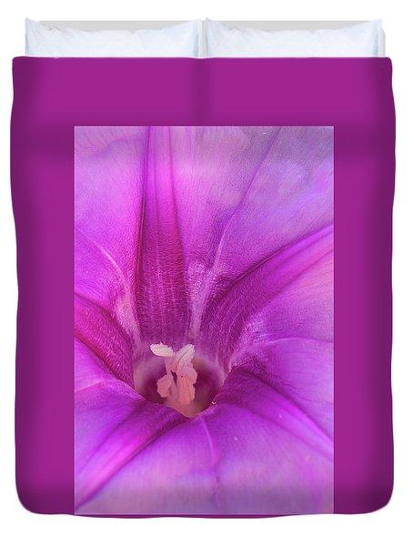 Pes Caprae Flower Duvet Cover