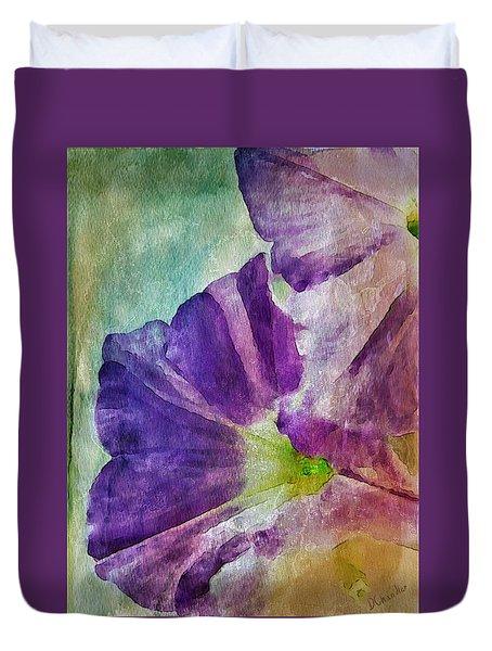 Petunia Duvet Cover