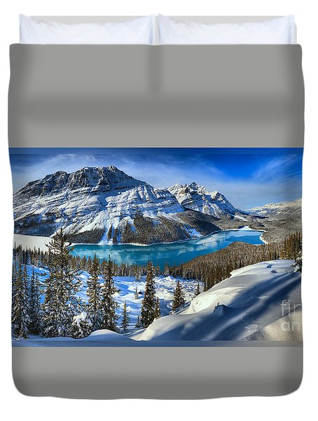 Peyto Lake T-shirt Duvet Cover